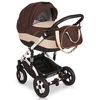 Детская универсальная коляска 2 в 1 VERDI Plus 06, коричневый