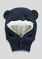 Детская шапка-шлем для мальчика. 6-12, 12-23 месяца