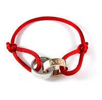 Браслет в стиле Love Cartier Double Ring