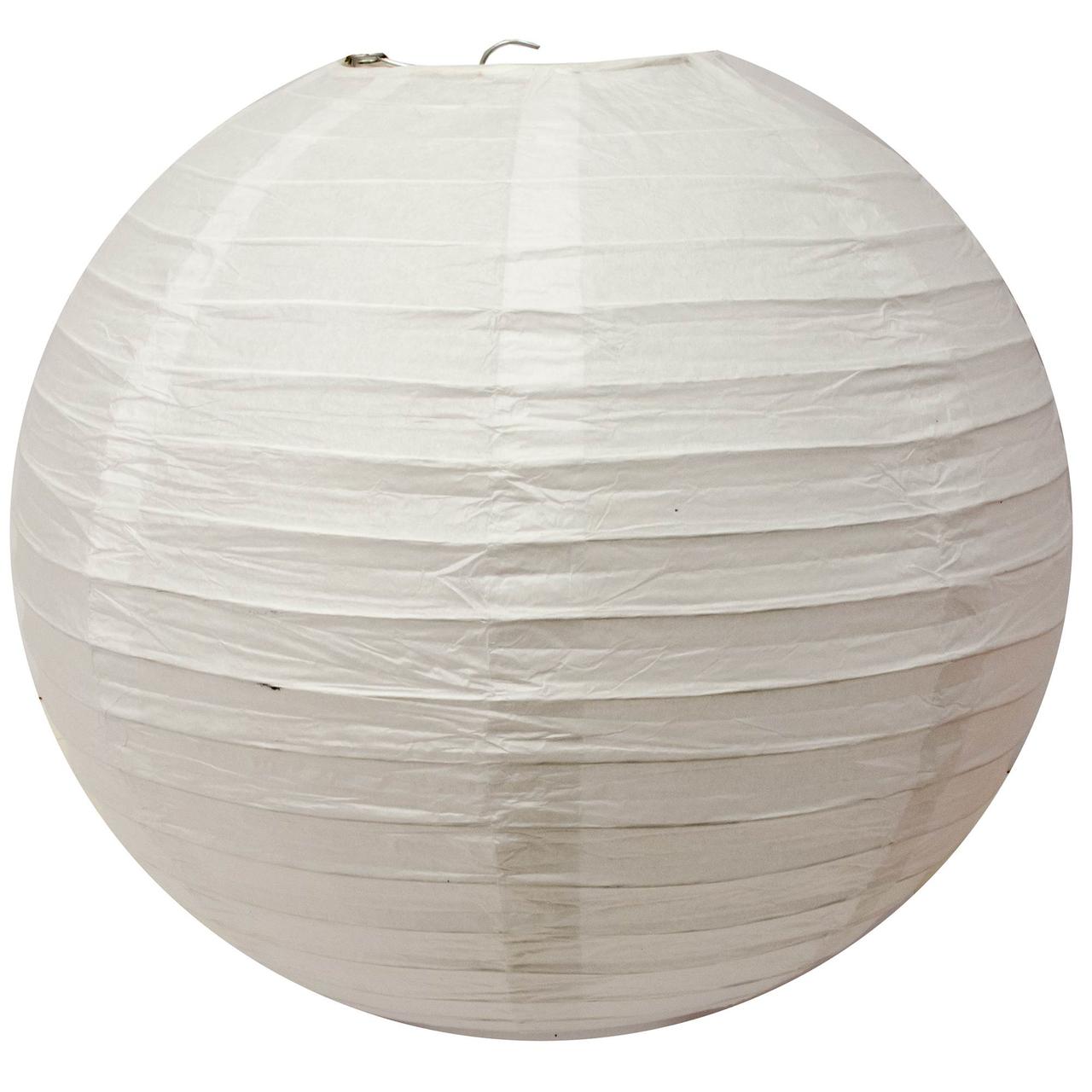 Бумажный фонарь белый