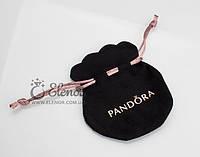 Мешочек черный с логотипом Pandora (Пандора) упаковка
