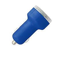 Автомобильный адаптер с USB  2 цвета
