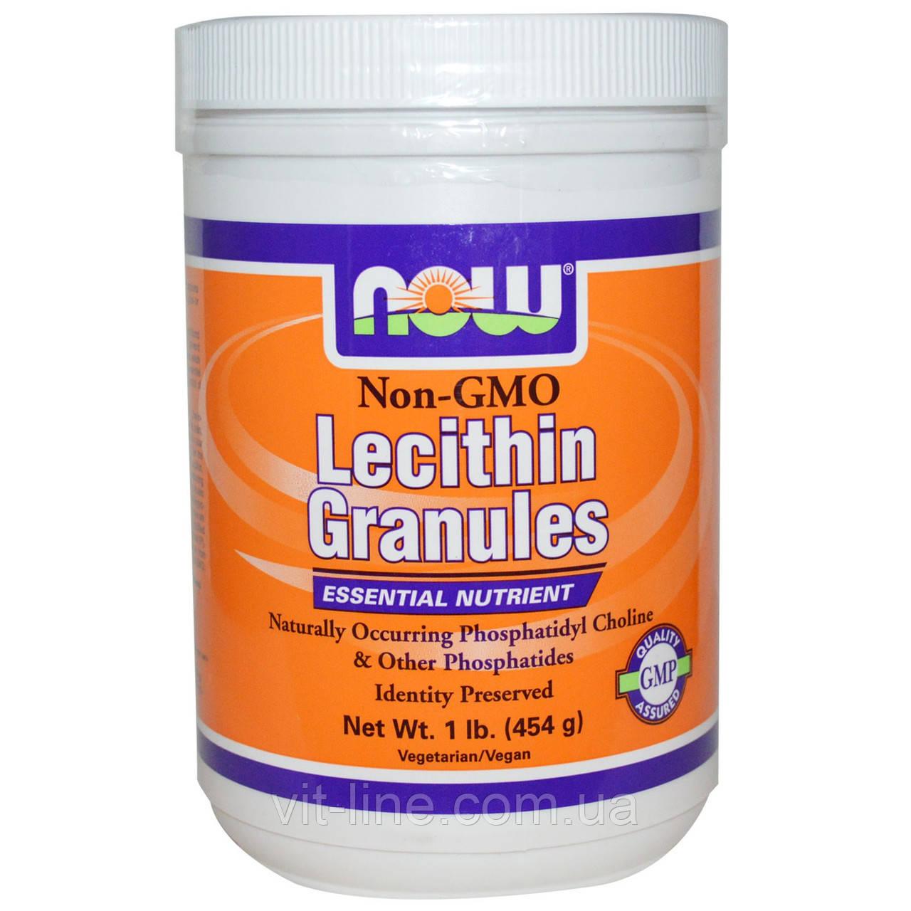 Лецитин в гранулах  Now Foods (454 г)