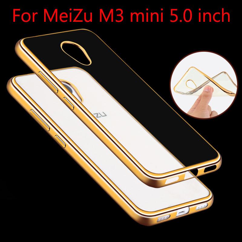 Прозрачный чехол для Meizu M3 mini/ M3s