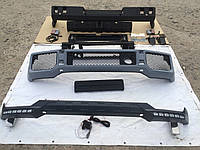 Передний бампер, Докладка переднего бампера,Задний бампер WideStar Mercedes G-class W463 G63/G65