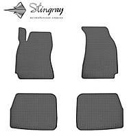 Skoda Superb  2002- Задний правый коврик Черный в салон, фото 1