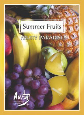 """Арома свечи """"Summer Fruits""""-6шт./упак"""