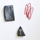 Альгиз (Algiz),руна амулет, камень – мгновение, жизнь и смерть, защита, фото 2