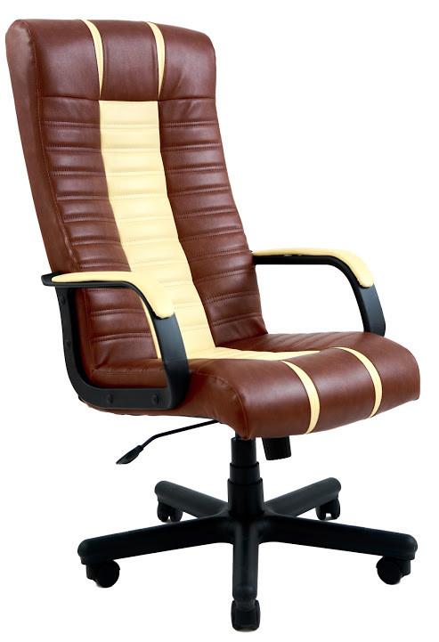 Кресло Атлант пластик Мадрас табак/ваниль (Richman ТМ)