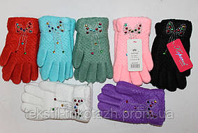 Перчатки на девочку №5513(уп 12 шт) , фото 2
