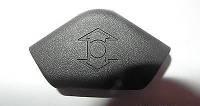Накладка (крышка, заглушка) верхнего крепления заднего ремня безопасности (на механизм регулировки высоты) OPEL VECTRA-C SIGNUM 9229008 5197501 197594