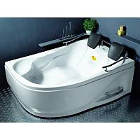 Ванна APPOLLO  угловая без гидромассажа 1800*1240*660 мм, правая, (рама + ножки + лицевая панель)