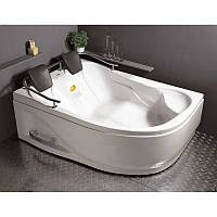 Ванна APPOLLO угловая без гидромассажа 1800*1240*660 мм, левая, (рама + ножки + лицевая панель)