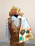 ПРОКАТ карнавальный костюм осенний месяц для мальчика