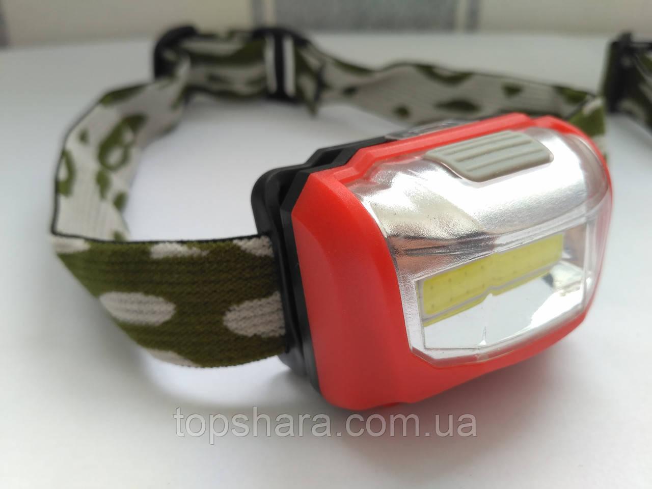 Фонарь головной Bailong NF-T835 лента 20 светодиов, AAA,