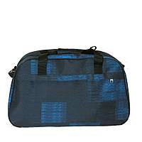 Дорожная сумка-саквояж средняя 204 синяя, фото 1