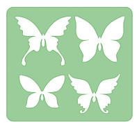 Трафарет бабочки 2