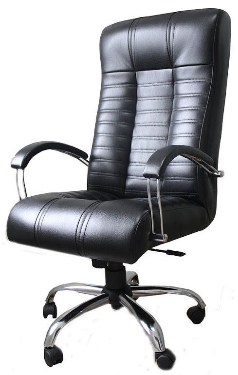 Кресло Атлант Хром Титан Блек (Richman ТМ)
