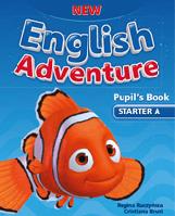 New English Adventure starter A SB + DVD