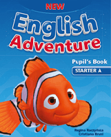 New English Adventure starter A SB + DVD