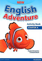 New English Adventure starter A WB + song CD
