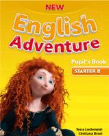 New English Adventure starter B SB + DVD