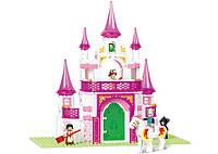 Конструктор SLUBAN M38-B0153 замок принцеси, фігурки, 271дет., кор., 28,5-42,5-6,5 см, фото 1
