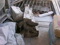 Демонтаж плит ограждений балконов