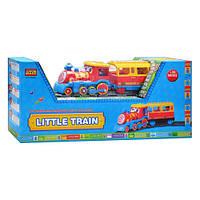 Конструктор JIXIN 8588A (M2264) залізниця, муз., світло, бат., кор., 56-12-24,5 см