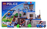 Конструктор JIXIN 8188A полицейська ділянка, бат., кор., 60 см