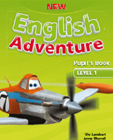 New English Adventure 1 SB + DVD