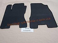 Коврики в салон резиновые Politera 2шт. для  Nissan X-Trail T31 2007-2014