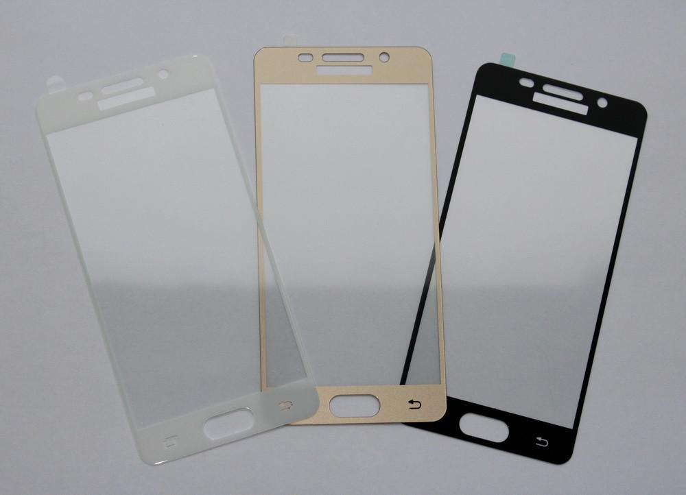 Цветное защитное стекло для Samsung Galaxy A3 A310
