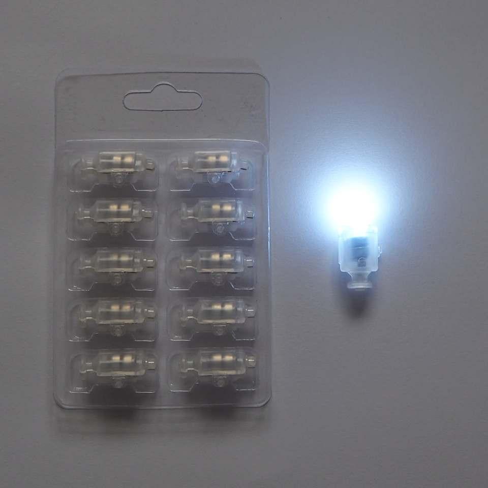 Светодиод для шаров SoFun с кнопкой белый цена за 1 шт
