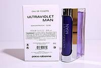 Тестер. Мужская туалетная вода Paco Rabanne Ultraviolet Man (Пако Рабанна Ультравиолет Мен), 100 ml