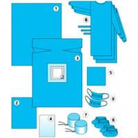Комплект одежды и покрытия д/кесаревого сечения N7 (Славна)