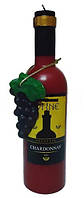 Свеча Бутылка вина 24 см