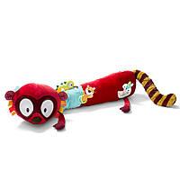 Lilliputiens - Большая развивающая игрушка-валик лемур Джордж