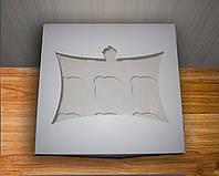 Коробка для капкейков на 9ячеек С Окном