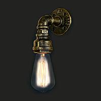 Светильник loft Vintage Industrial [ Elbow ] (водопровод)
