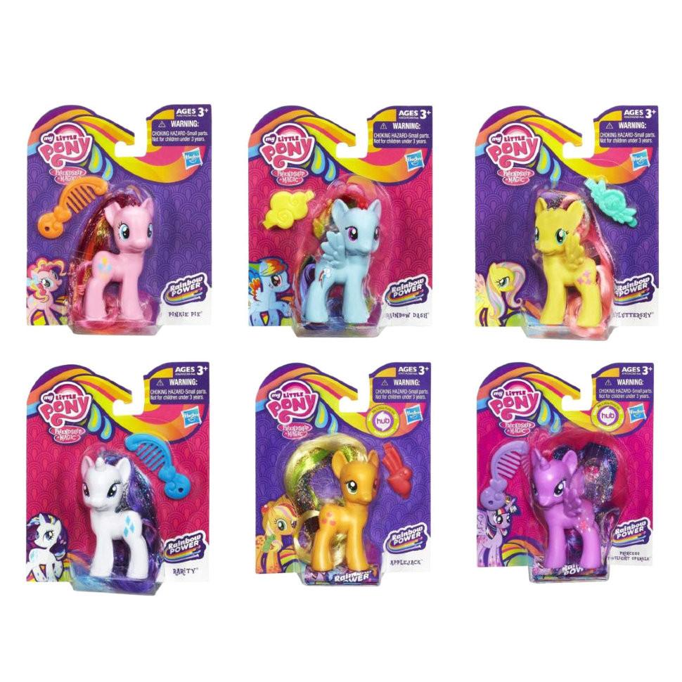 """Набор 6в1 Мой маленький Пони """"Радужная сила"""" - My Little Pony, Rainbow Power, Hasbro"""