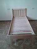"""Ліжко """"Медея міні"""" без ящиків (масив бука), фото 4"""