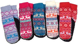 Носки тапочки детские LOOKeN (цельная подошва)