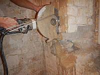 Резка бетона болгаркой