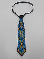 Краватка з вишивкою, з тризубцем, дитяча