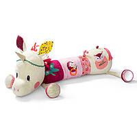 Lilliputiens - Большая развивающая игрушка-валик единорог Луиза