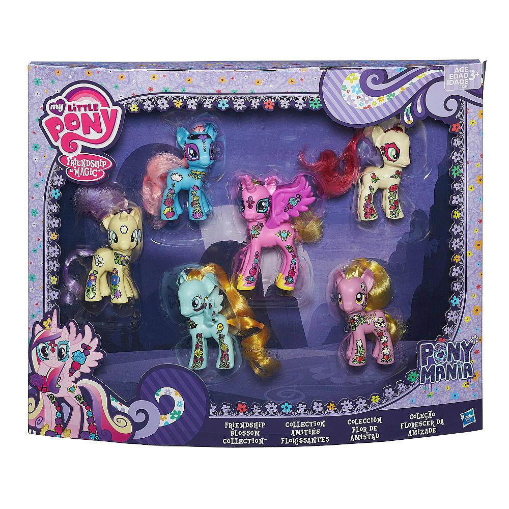 """Набор игрушек 6в1 Мой маленький пони """"Дружба - это магия"""" - My Little Pony, Friendship is Magic, Hasbro"""