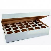 Коробка для капкейков, кексов на 24 ячейки