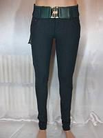 цветные женские брюки  зауженного силуэта