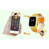 Детские умные часы с GPS трекером Q80 / Смарт беби вотч Q80 / детские ЧАСЫ - ТЕЛЕФОН smart watch, фото 3
